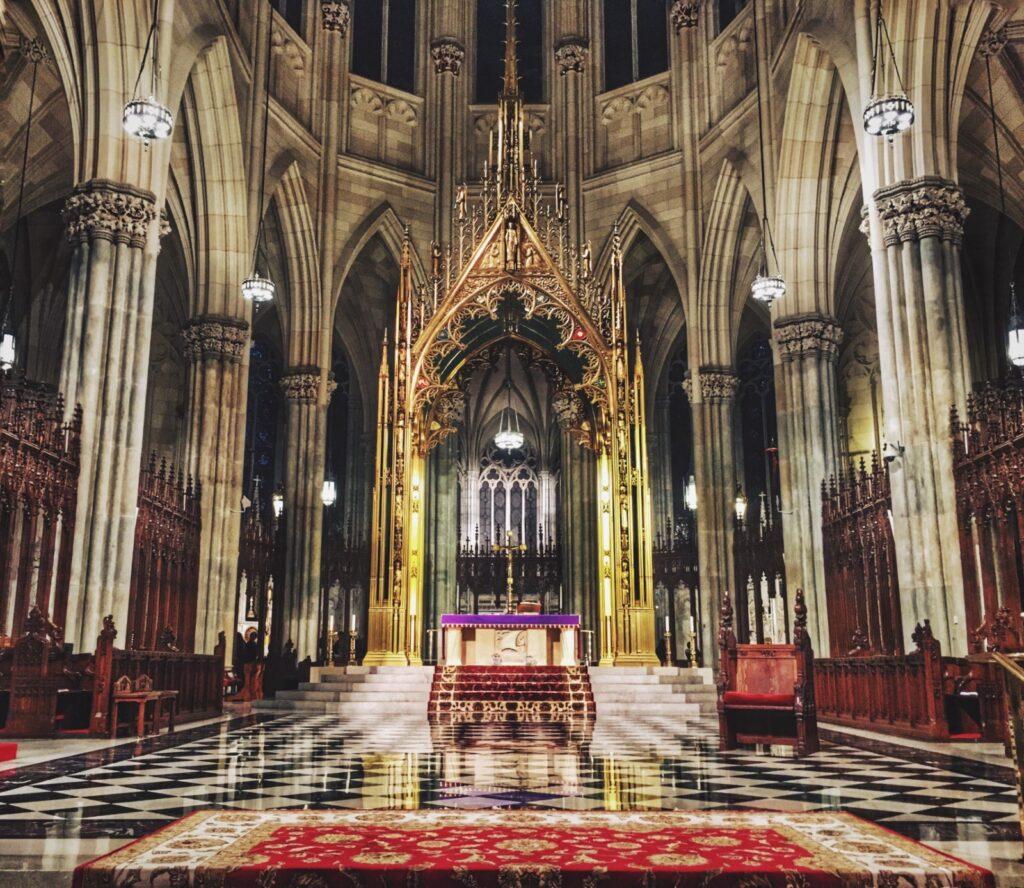 Interni cattedrale di san patrizio