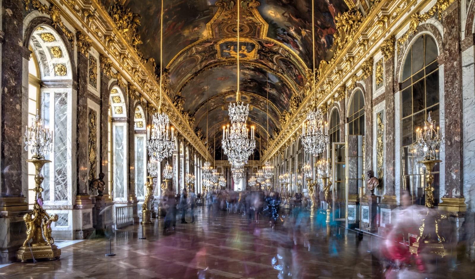 La Galleria degli Specchi di Versailles
