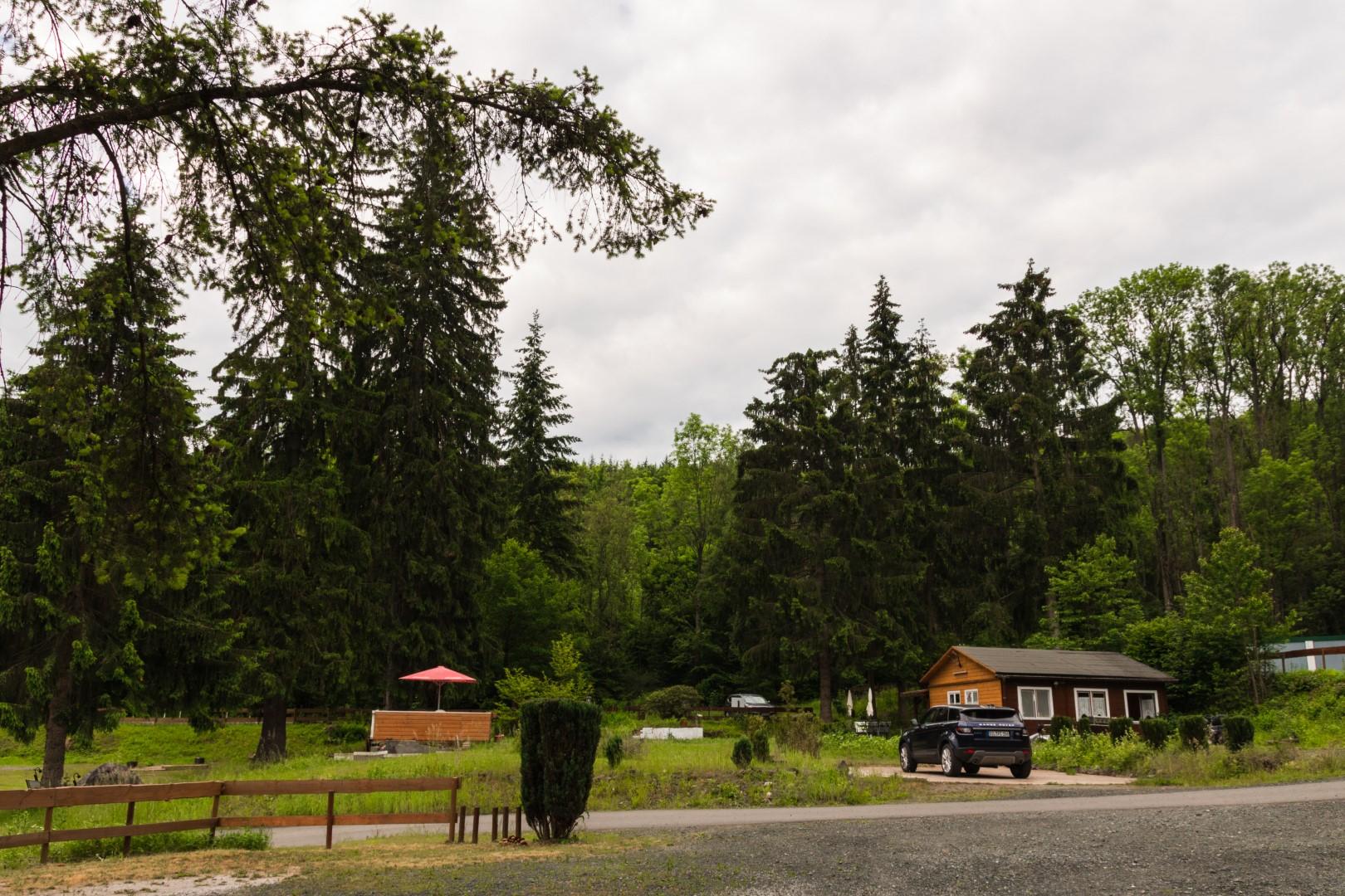 scorcio del campeggio