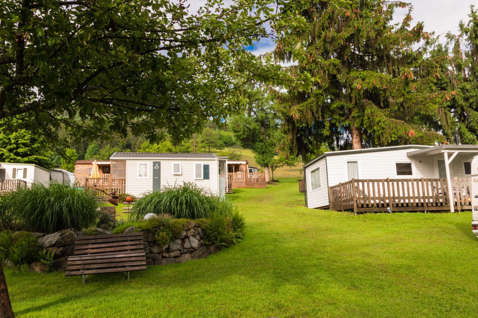 Vista sui bungalow