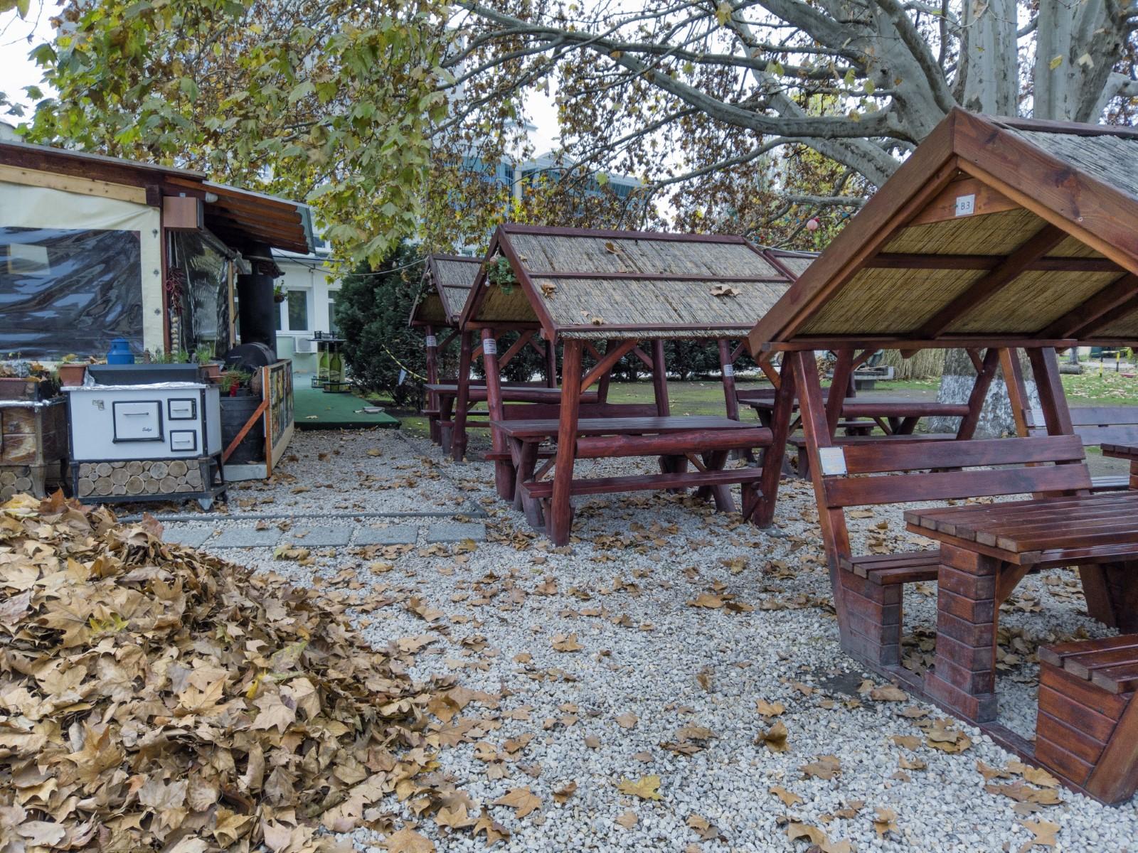 Campeggio a Budapest - Il ristorante