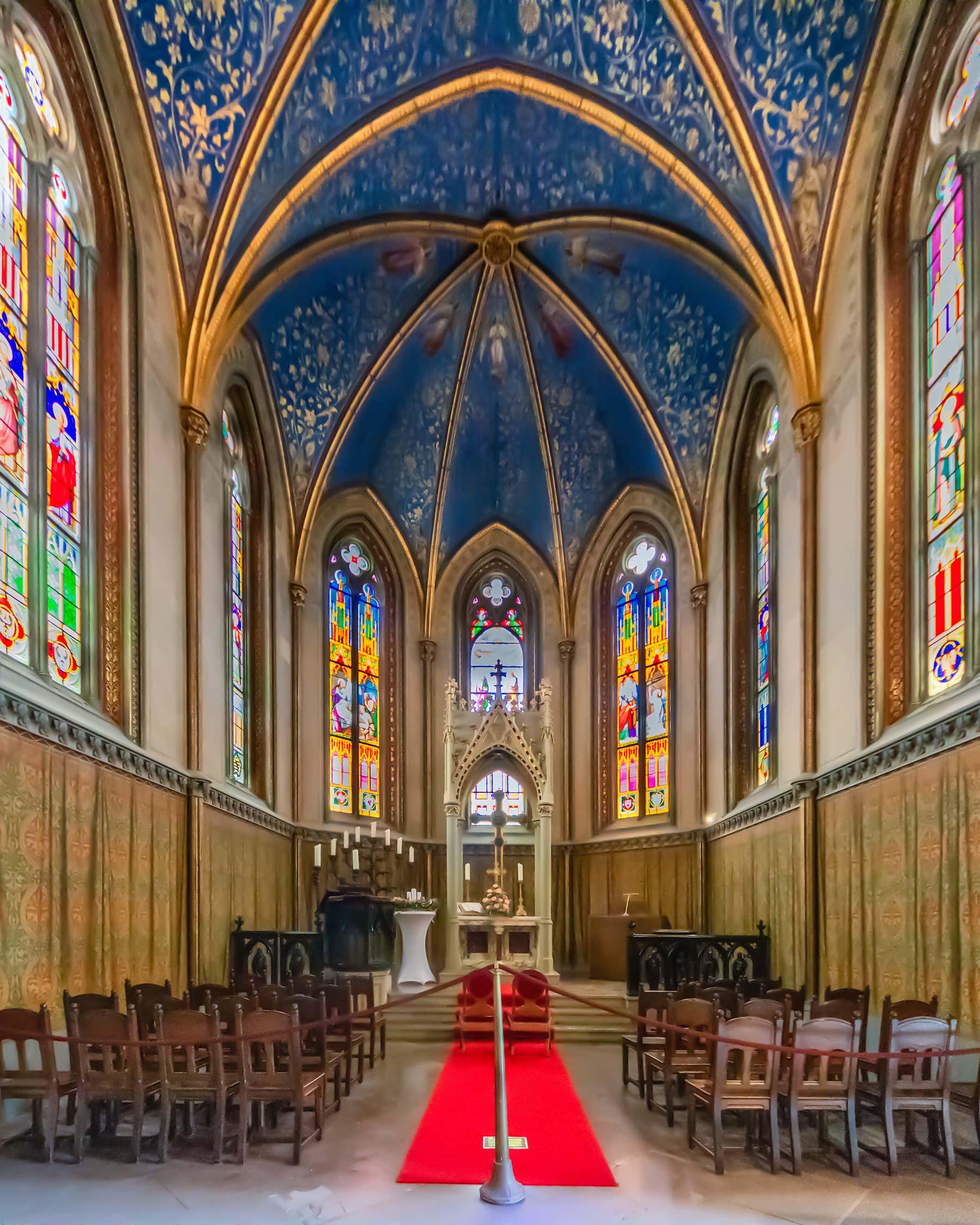 Hohenzollern Cappella dopo la post