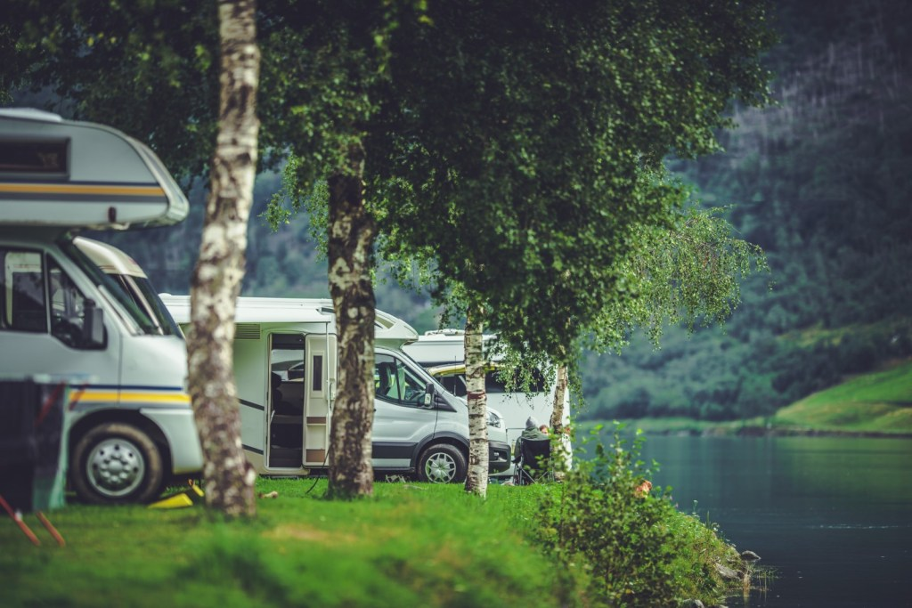 Col Camper in Villeggiatura