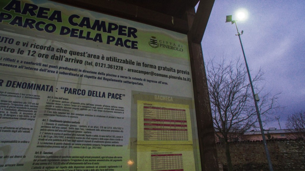 Area camper Pinerolo