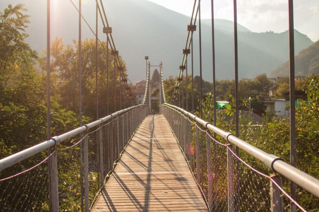 Cannobio il ponte ballerino