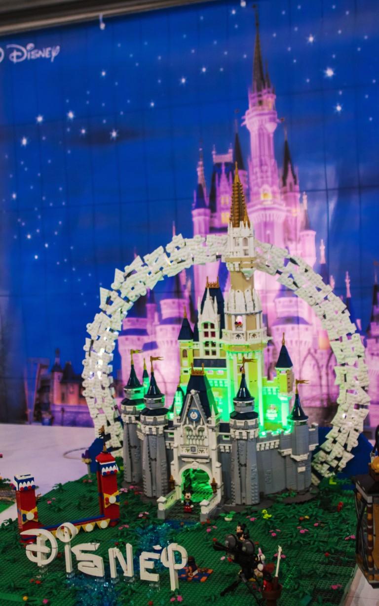 Il castello di Disneyland