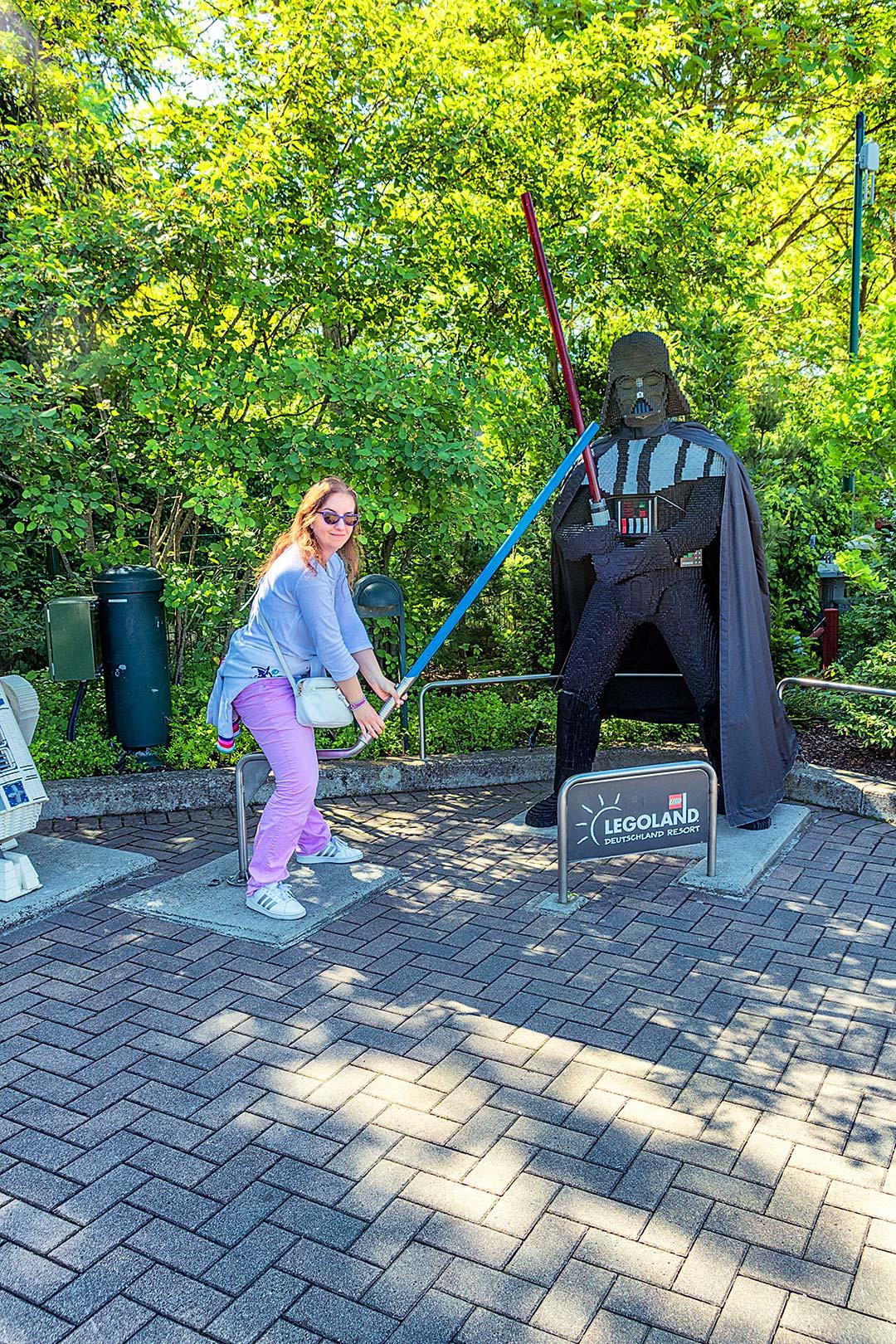 Chiara Vs Darth Vader