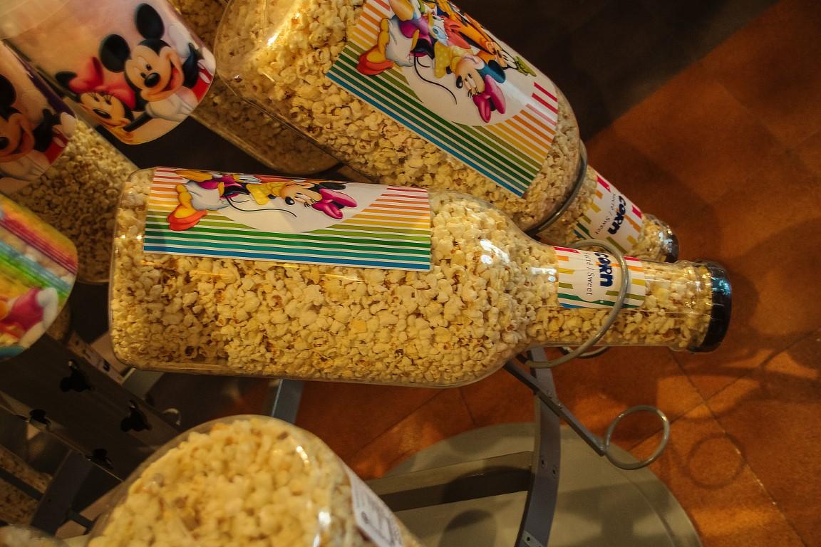 bottiglia di popcorn