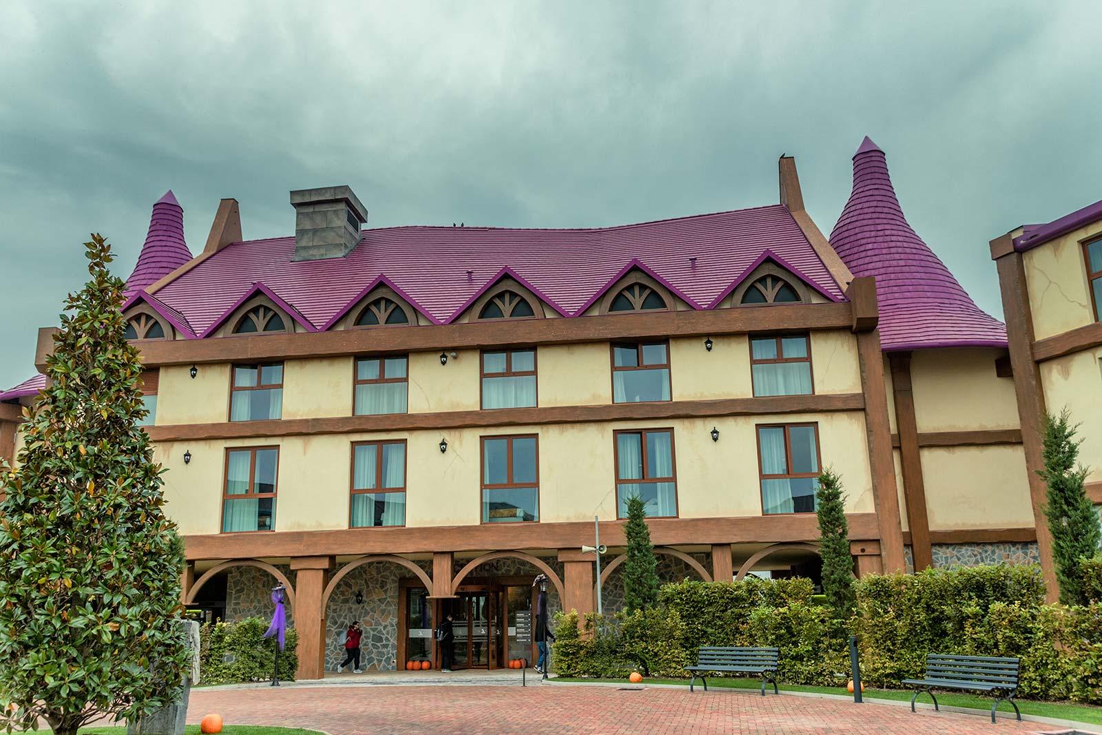 Esterno del Gardaland Magic Hotel