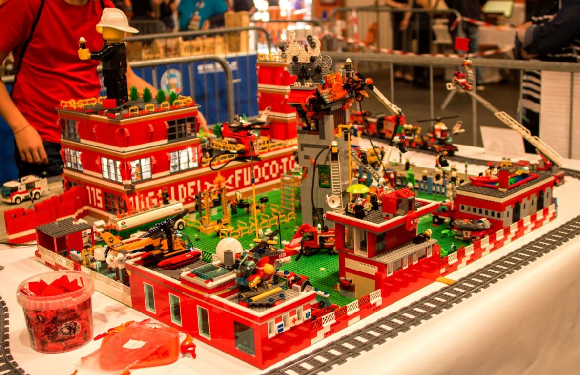 Lego Caserma dei vigili del fuoco