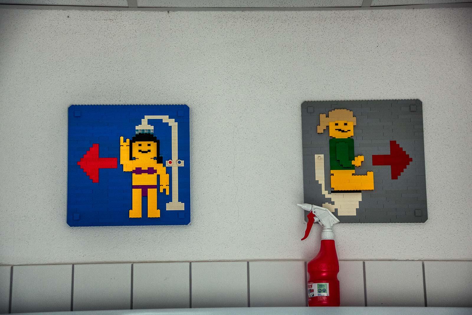 Legoland Bagni Insegna