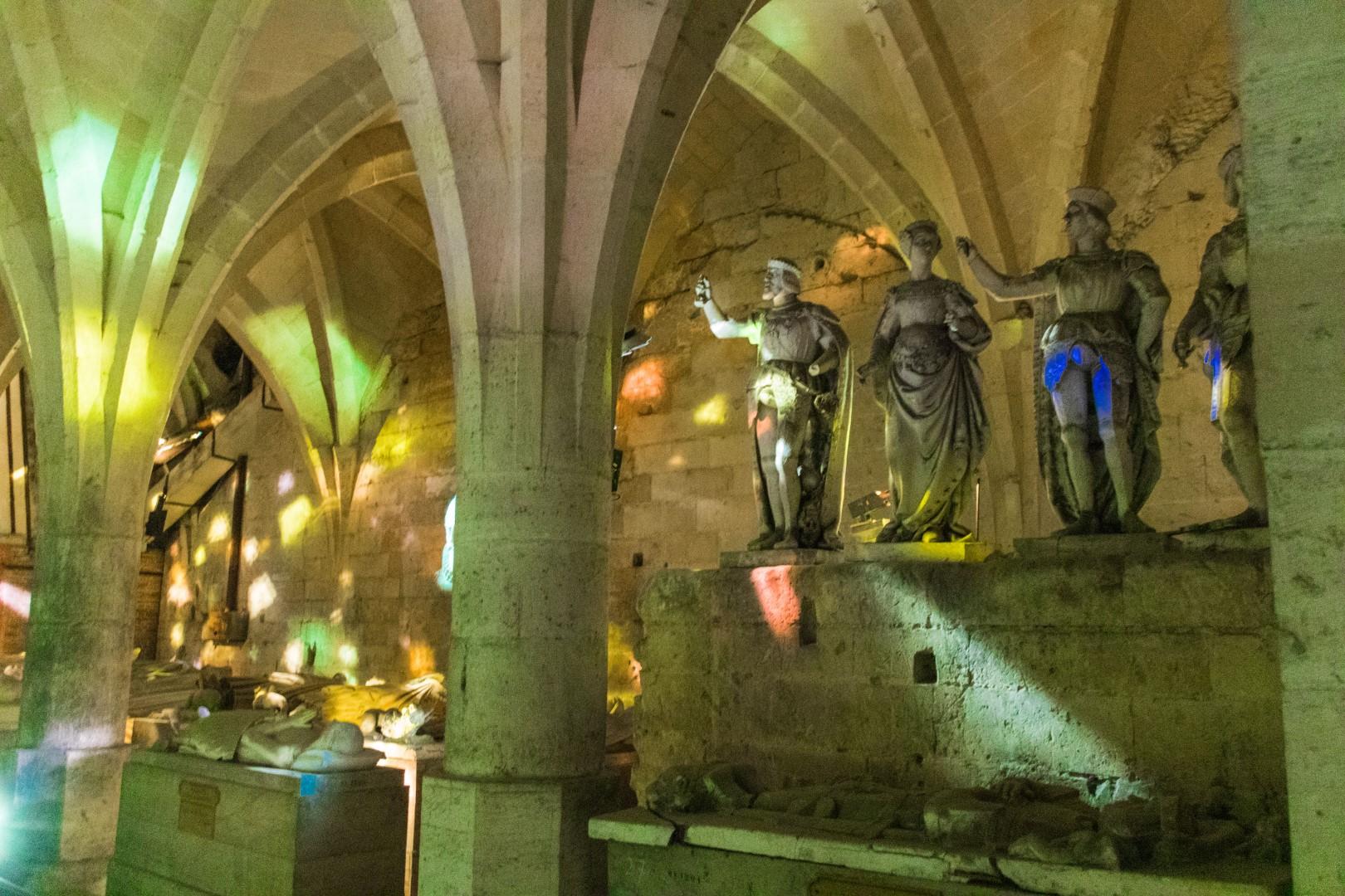Pierrefonds le catacombe