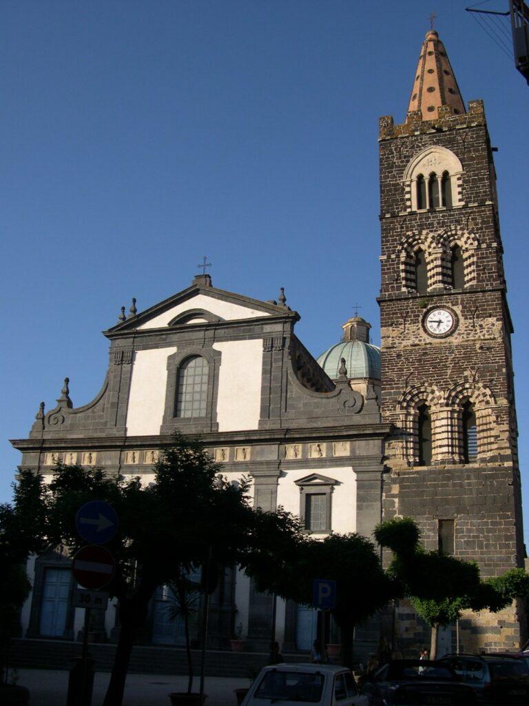 San Martino e il suo campanile, il più bello della Sicilia.
