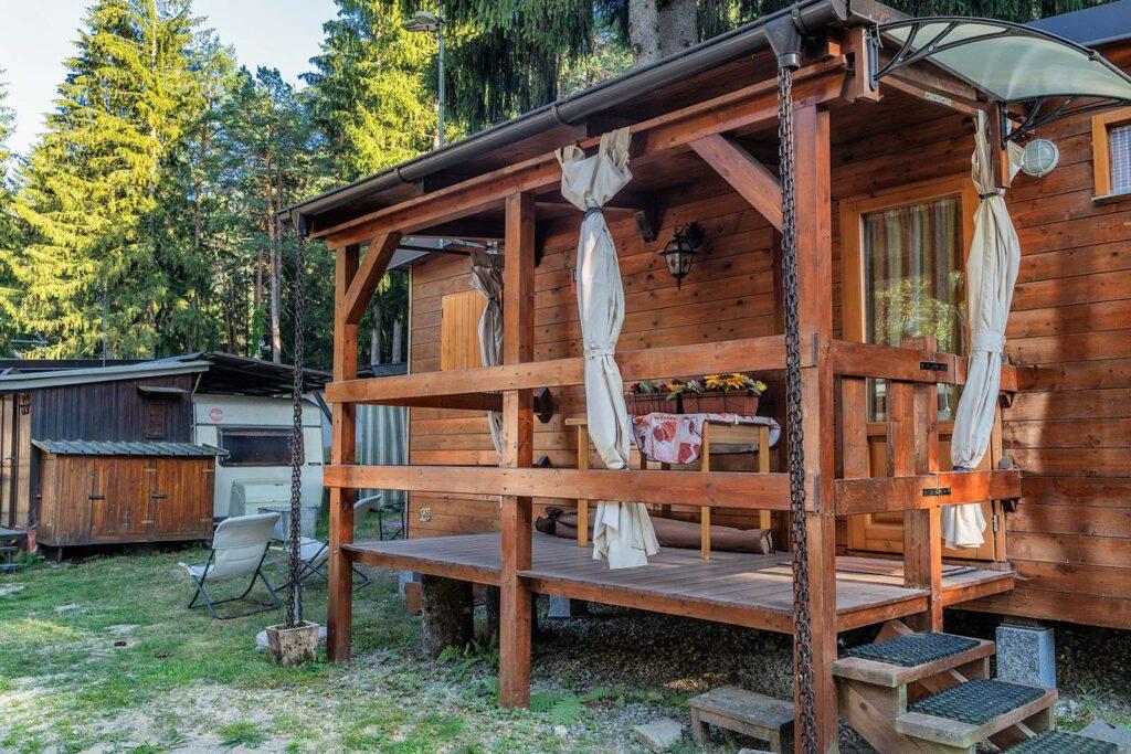 casa mobile in campeggio