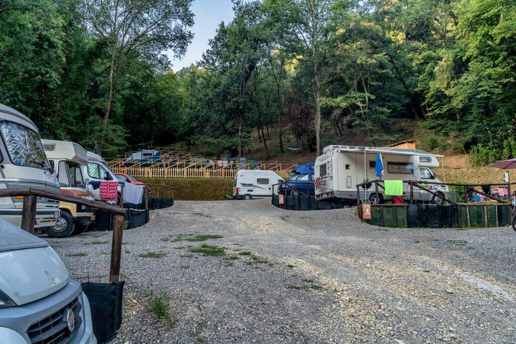 Ancora una vista sul camping
