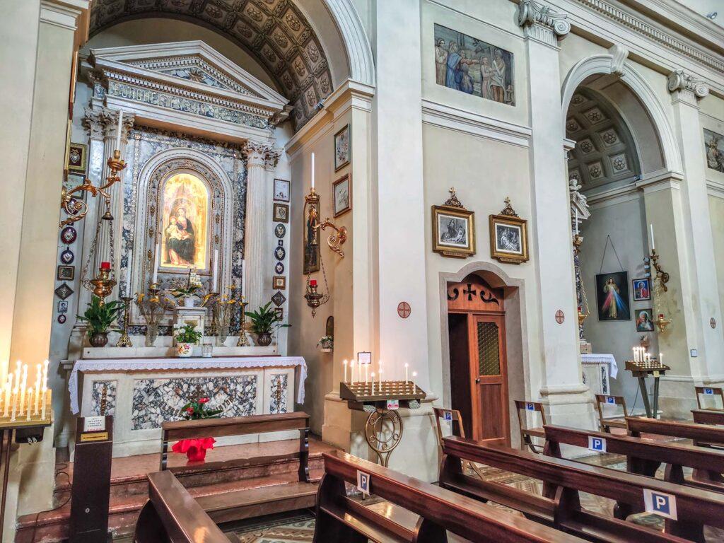 Interni di San Marco a Borghetto sul mincio