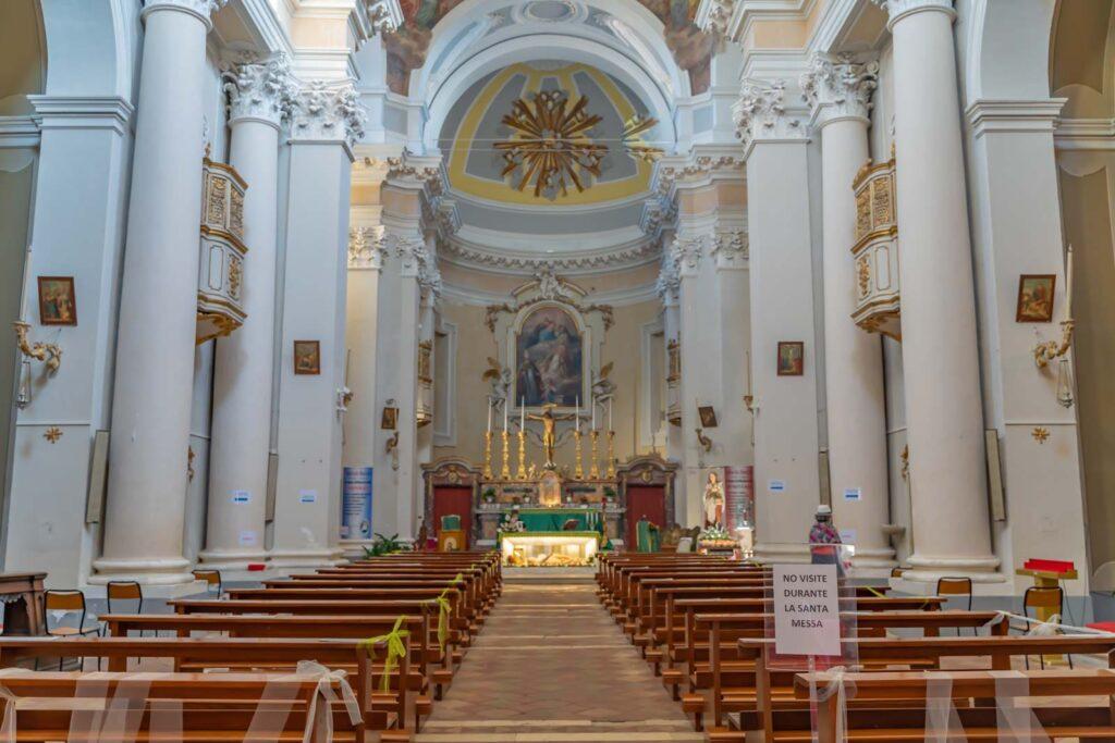 navata centrale santuario