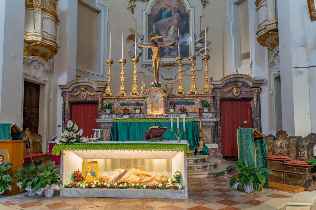 altare del santuario