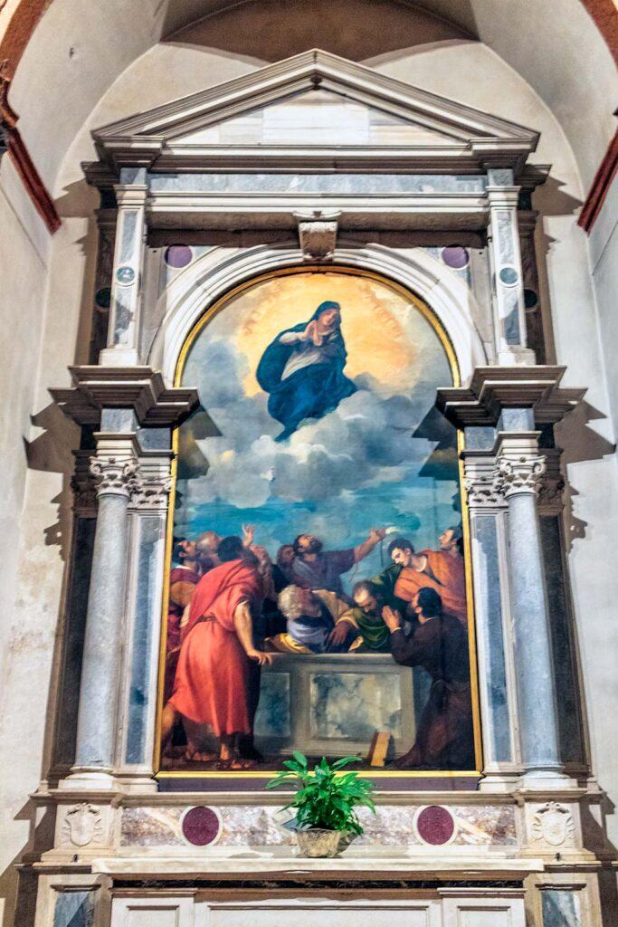 la pala di Tiziano