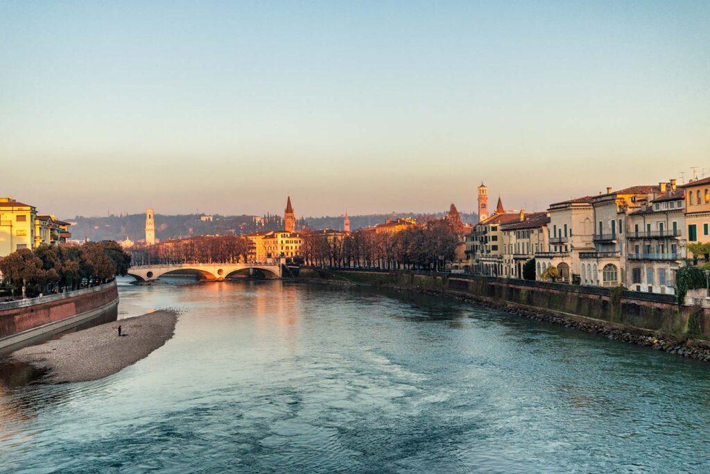 Verona vista dal ponte