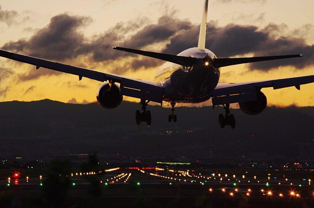ritorno in aereo