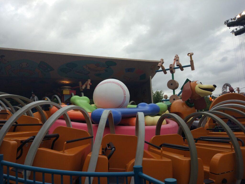 L'attrazione di Slinky a Disneyland Paris