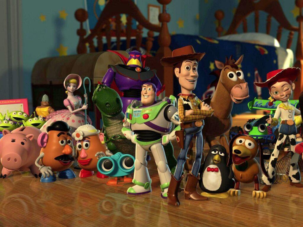 I giocattoli di Toy Story