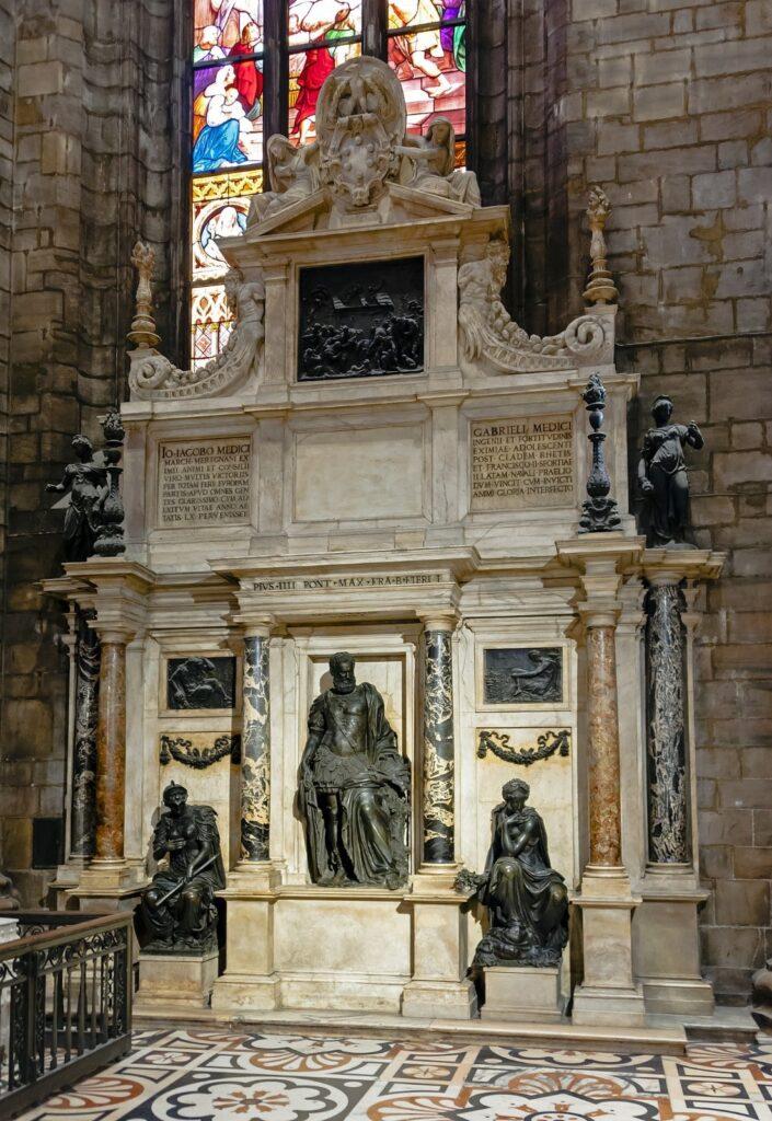 tomba di Gian Giacomo Medici