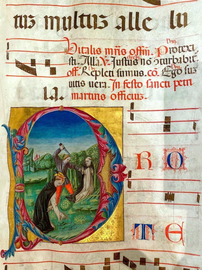 codice medievale miniato