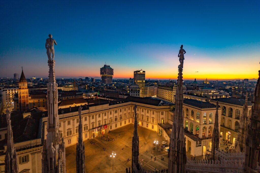 Milano vista dalla Terrazza