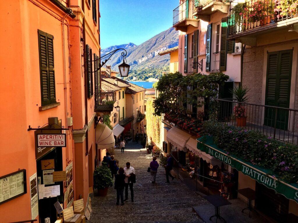 Tra le viuzze pittoresche di Bellagio.