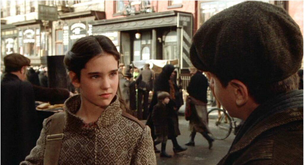 "Una scena di ""C'era una volta in America"" di Sergio Leone."