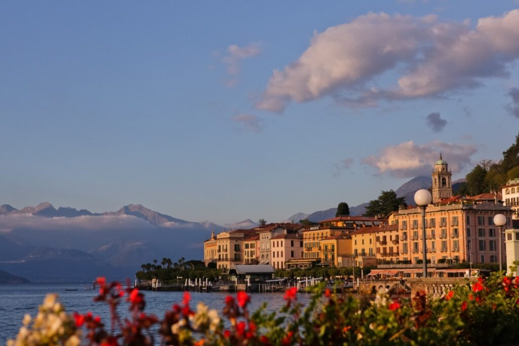 Vista di Bellagio, bellissima e amata da vip di tutto il mondo.