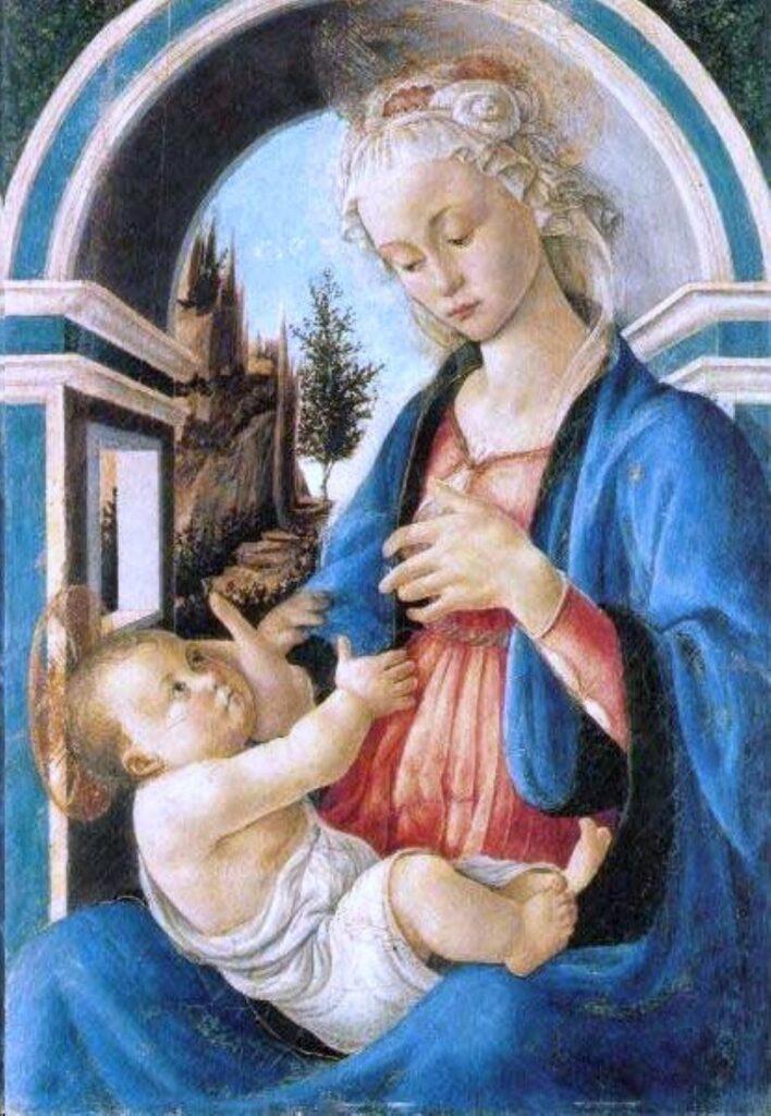 Madonna col Bambino di Botticelli