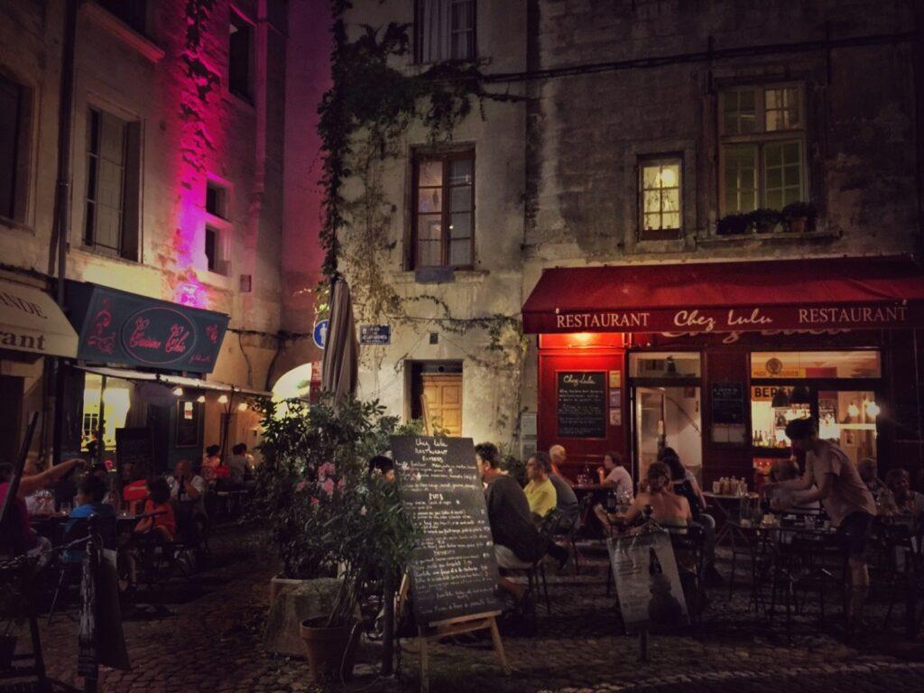 piazzetta di Avignone