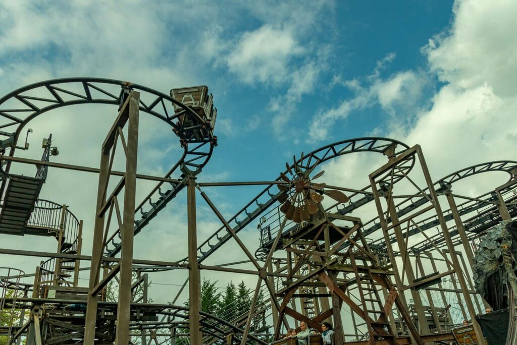 Il wild mouse Gold Digger