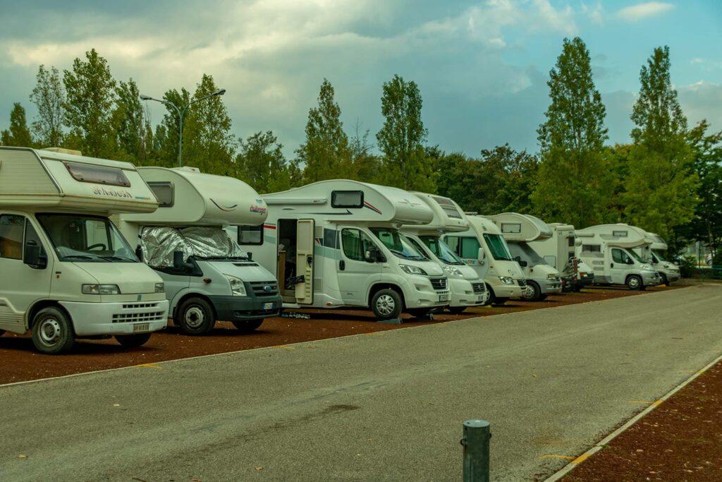 area camper di mirabilandia
