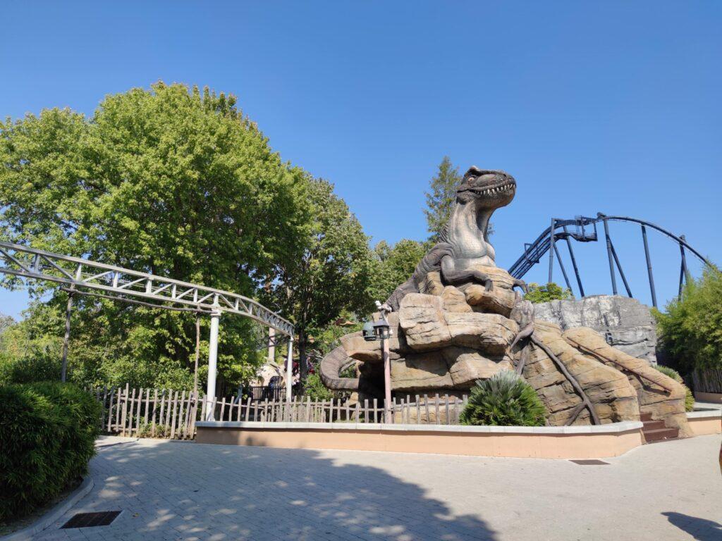 particolare di Dinoland