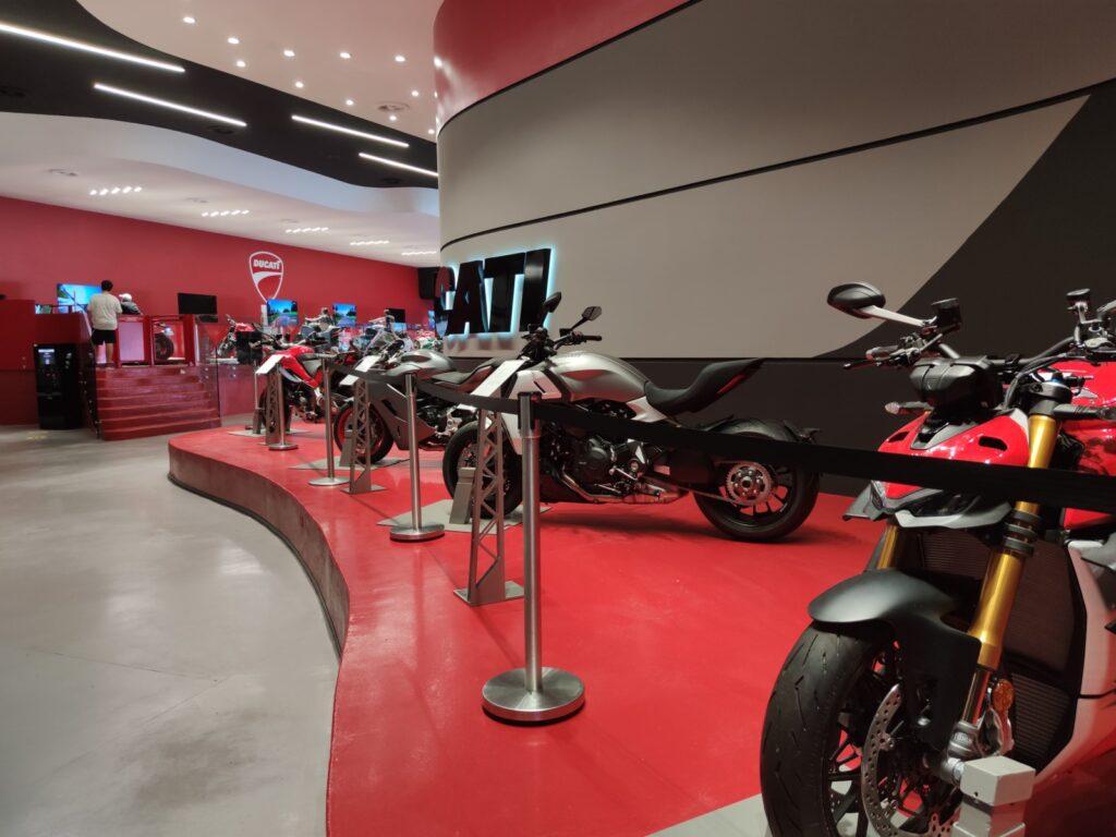 le moto di Ducati World