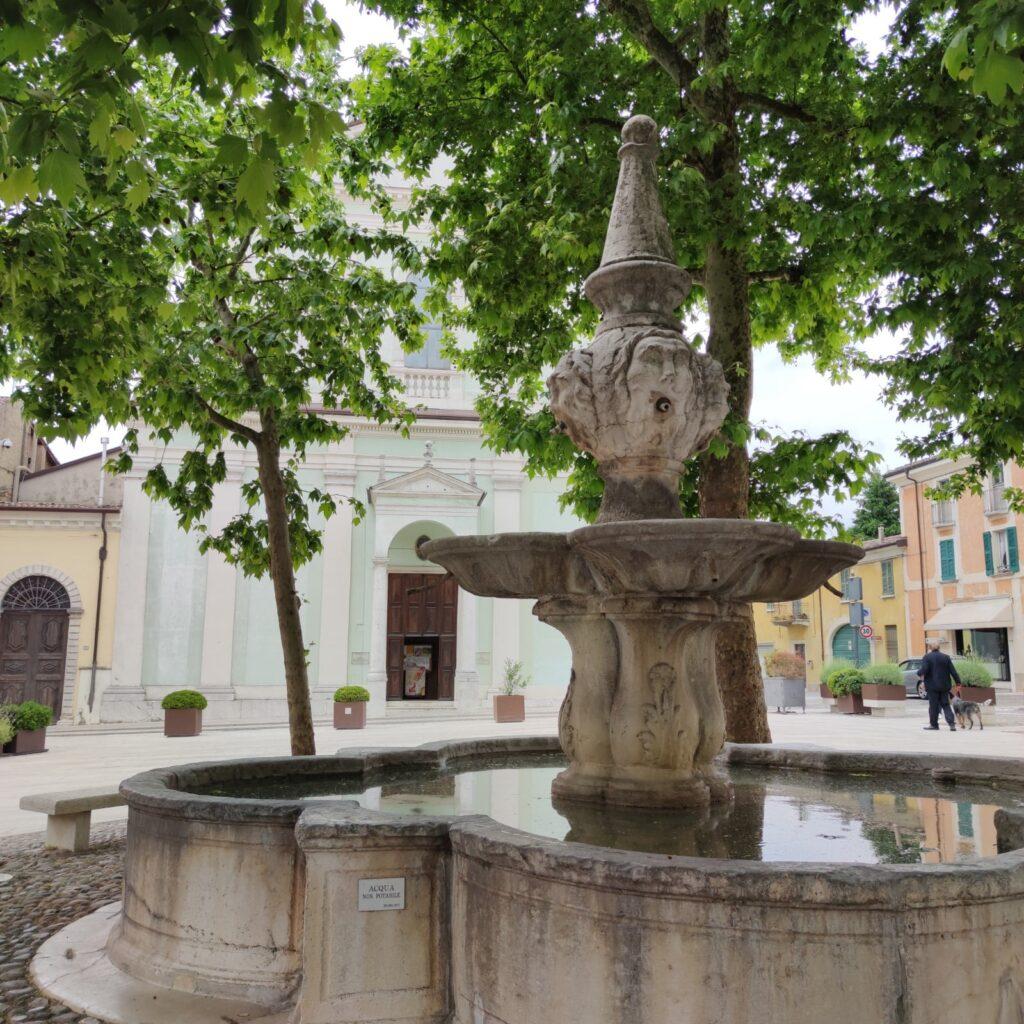 fontana di piazza san luigi