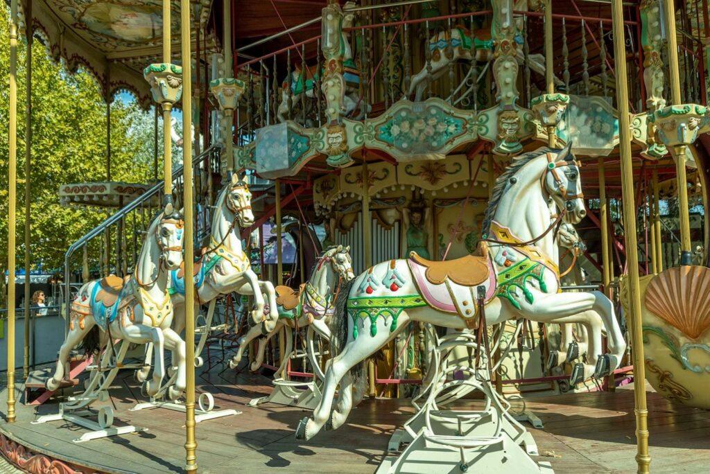 carosello dei cavalli