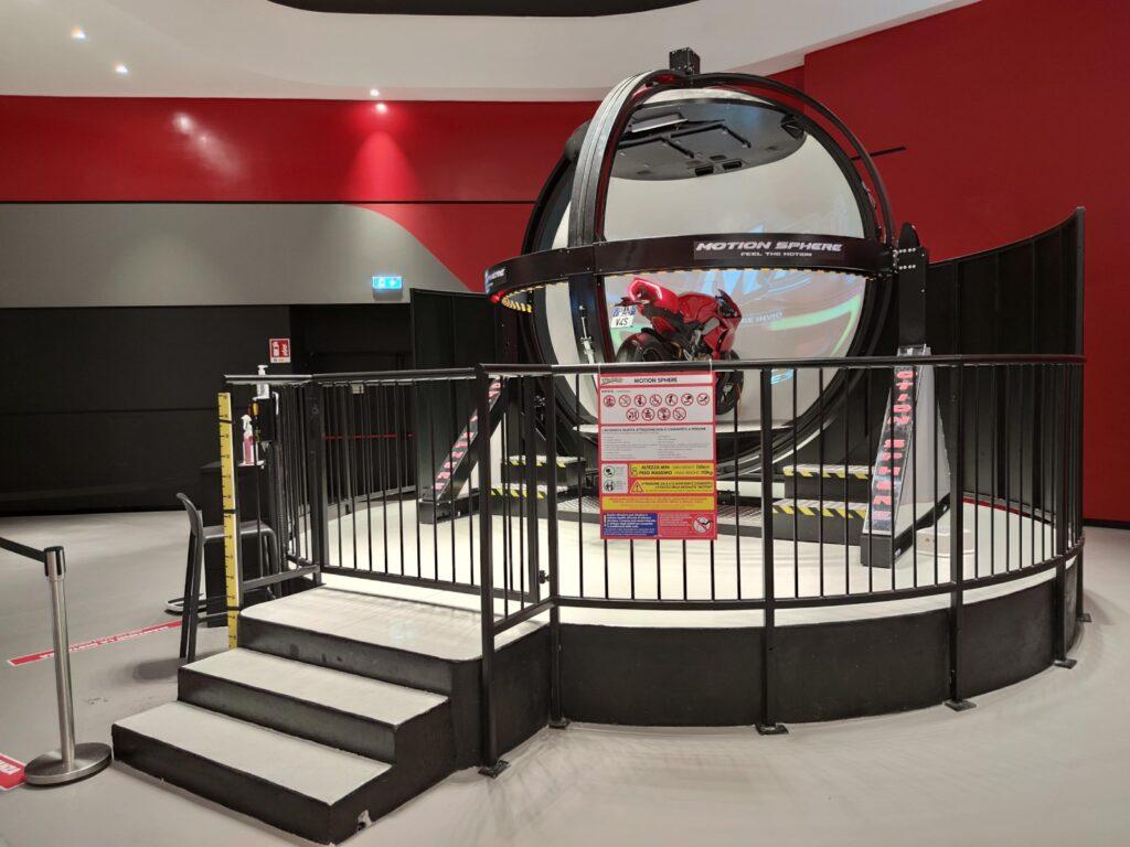 il simulatore motion sphere