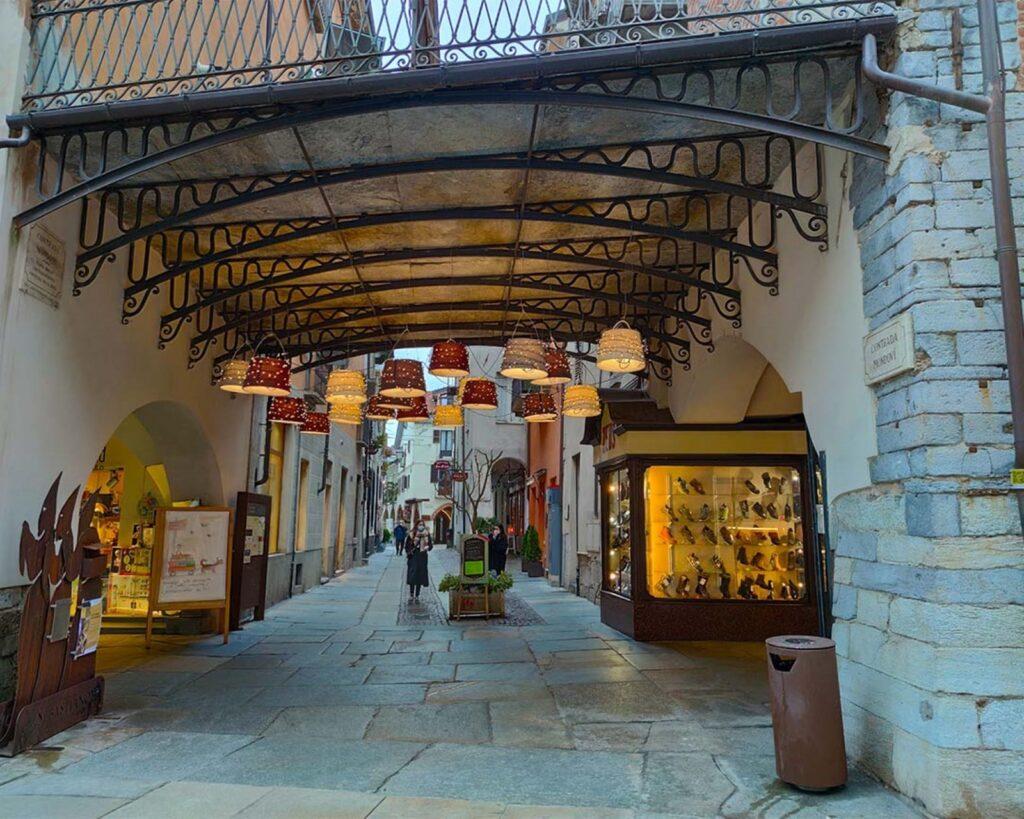 Il centro di Cuneo