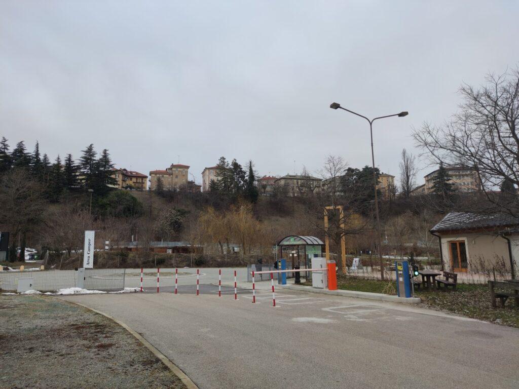 area sosta  Cuneo