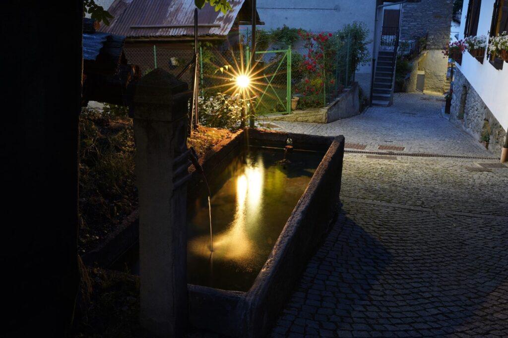fonatna di sera