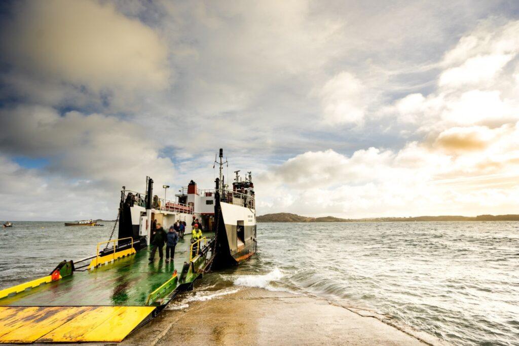 uno dei Ferries scozzesi