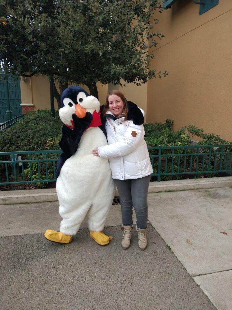 Chiara e il pinguino di Mary Poppins