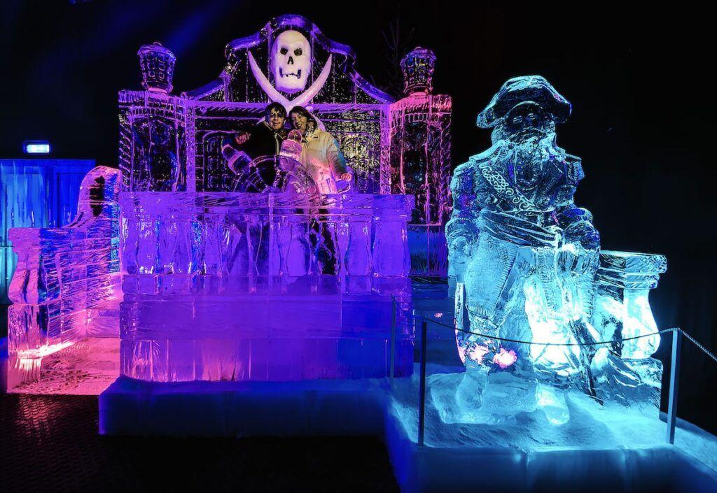 nave pirata di ghiaccio
